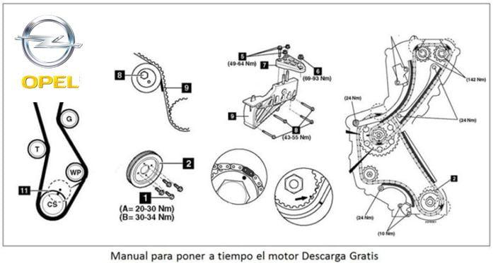 manual de mec u00e1nica y reparaci u00f3n opel astra h 1 8