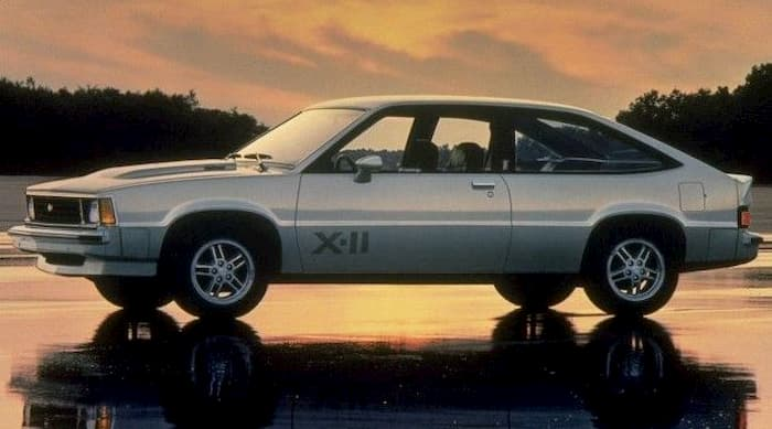 Chevrolet Citation X-11 1982 2.8L