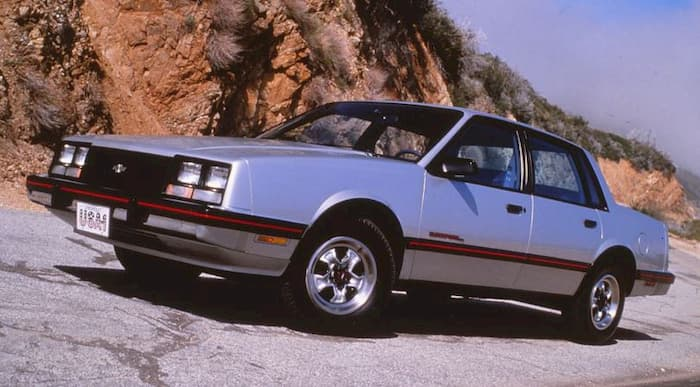 Chevrolet Celebrity 1987