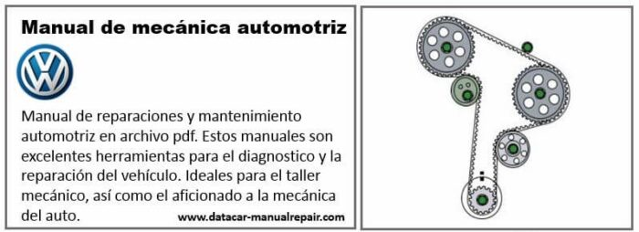 Descarga gratis el manual de taller Volkswagen Golf 1990 1.8L