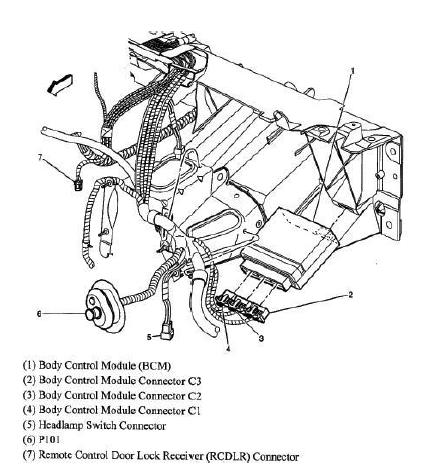 Diagrama BCM impala 05