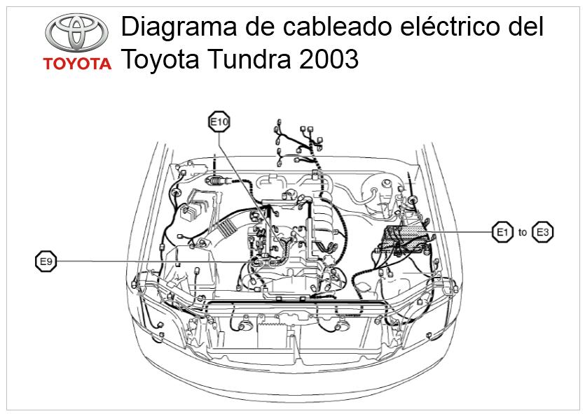 toyota tundra manual del sistema el u00e9ctrico 2003  circuitos y diagramas