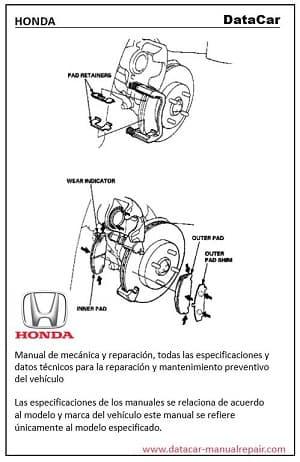 Descarga Gratis el manual de taller Honda Civic EX-R 1999