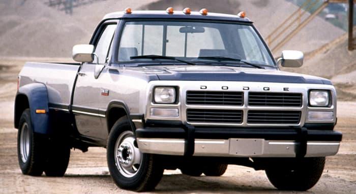 Dodge Ram Truck 1990