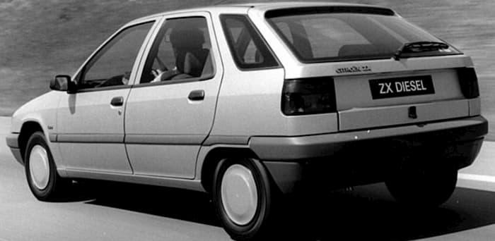 Manual de mecánica Citroën ZX 1993