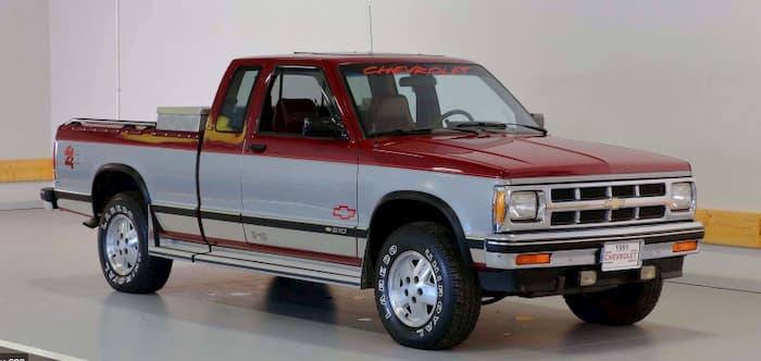 Chevrolet S10 1991