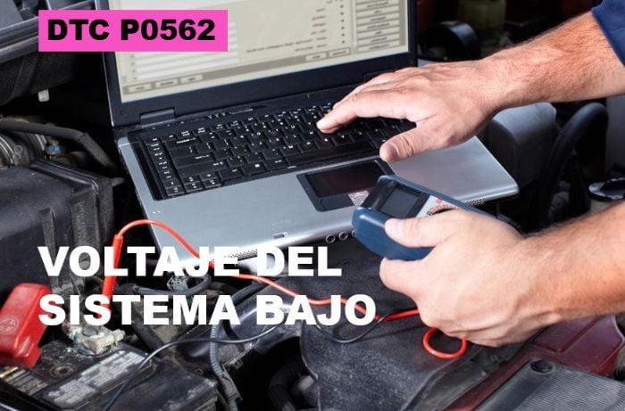 Código de falla P0562