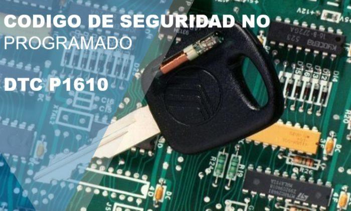 Código de falla P1610