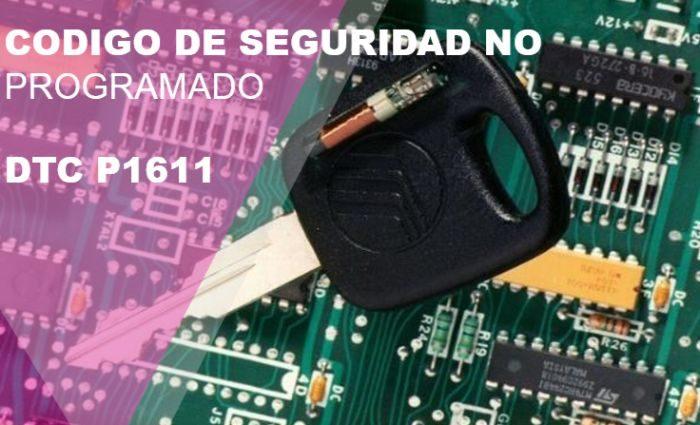 Código de falla P1611