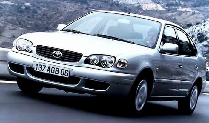 Manual de mecánica Toyota Corolla 2000