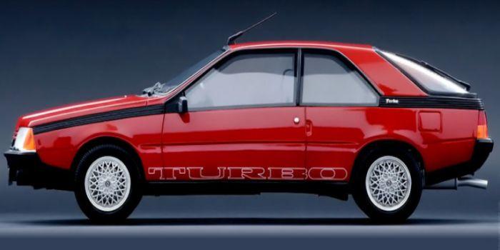 Renault fuego 1983-1992