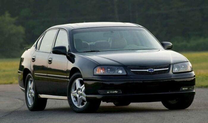 Chevrolet Impala 2002 V6 3.8L