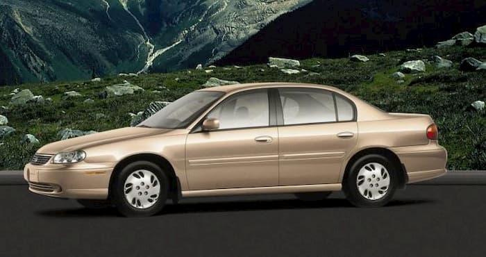 Chevrolet Malibu 2002 V6-3.1L