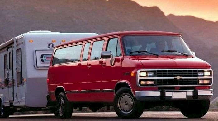 Chevrolet Sportvan G30 1996