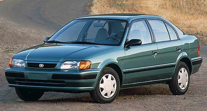 Toyota Tercel 1997-1998